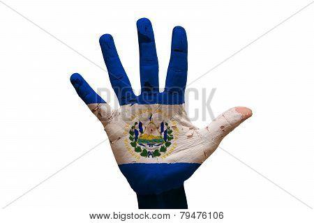 Palm Flag El Salvador
