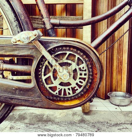 Oldtimer  bicycle