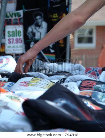 Shopping for TShirts 2