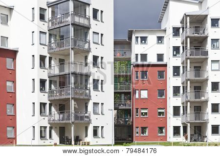 Real Estate Residential District Full Frame