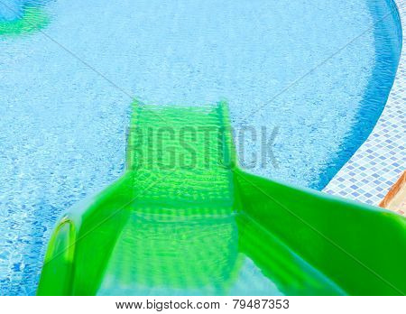 Green Plastic Slider