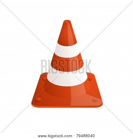 Vector modern traffic cones