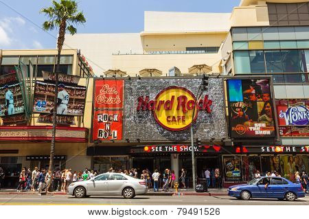 Hard Rock Cafe In Hollywood