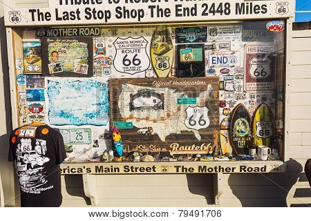 Route 66 Souvenir Shop