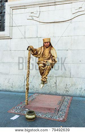 Levitation Street Performer