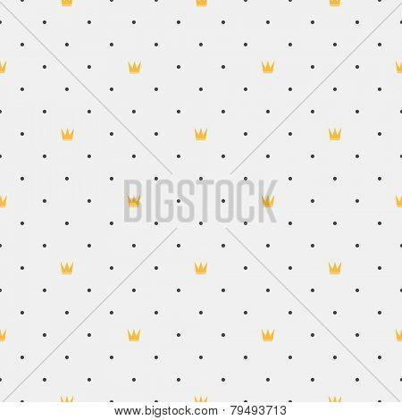 Vintage seamless pattern. Geometric shapes