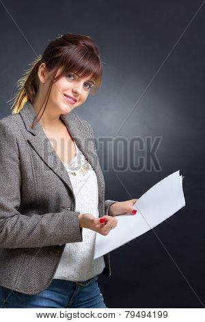 Business Woman's Smile