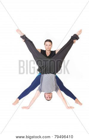 People With Arms And Legs Spread