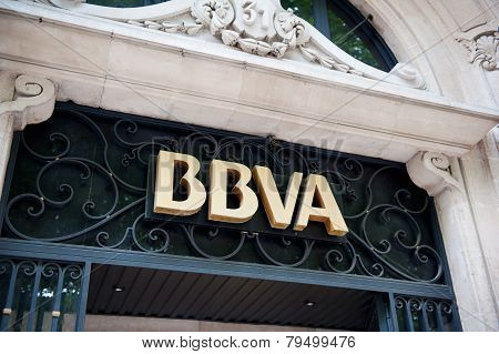 Bbva - Banco Bilbao Vizcaya Argentaria Headquarter In Madrid