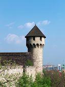 Medieval bastion poster