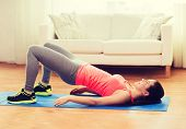 stock photo of slender legs  - fitness - JPG
