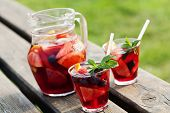 picture of refreshing  - Refreshing sangria  - JPG