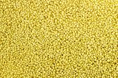 stock photo of tagine  - Macro background closeup of raw uncooked couscous - JPG