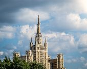 picture of highrises  - One of Moscow - JPG