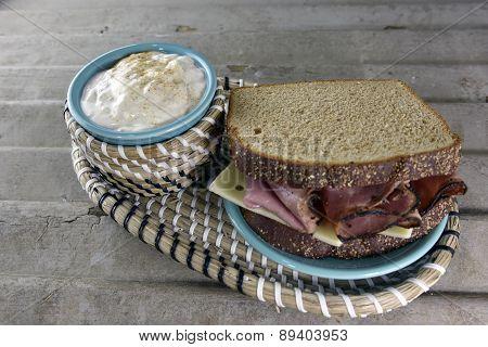 Roast Beef Deli Sandwich