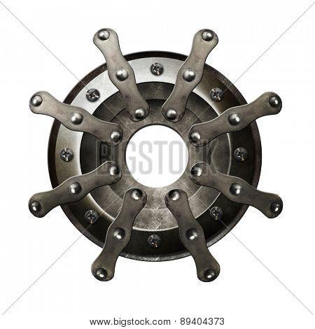 Metal helm