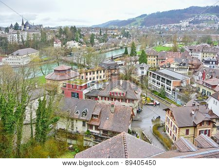 Swiss Capital City Of Bern, Switzerland