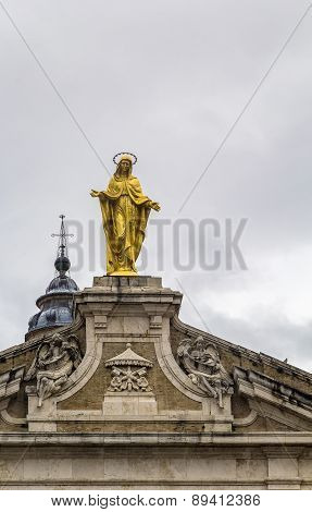 The Gold-plated Statue Of The Madonna, Assisi
