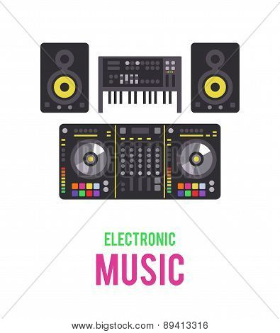 Electronic musical devices.