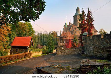 Czocha Castle, Poland.