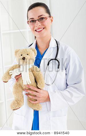 pretty paediatrician