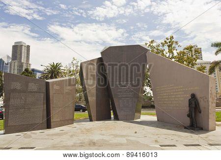 U.s.s. San Diego Memorial
