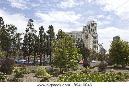 View Of Embassy Suites Hotel In San Diego