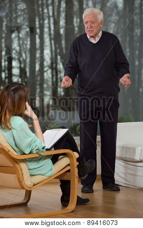 Psychologist Listen To Her Patient