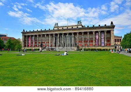 Altes Museum (Old Museum) in Berlin, Germany.