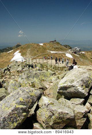 Tatra mountains in Poland, near city Zakopane