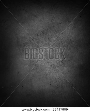 Dark grey textured wall closeup