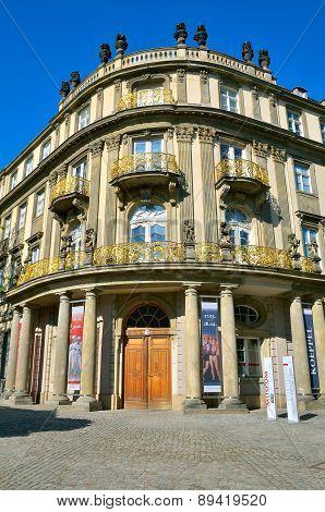 Ephraim Palace in Berlin, Germany.