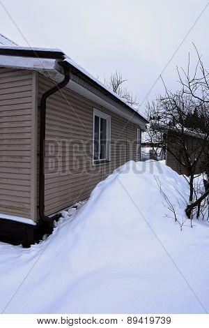 Snow Around The House