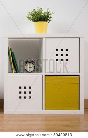 Designed White Cupboard