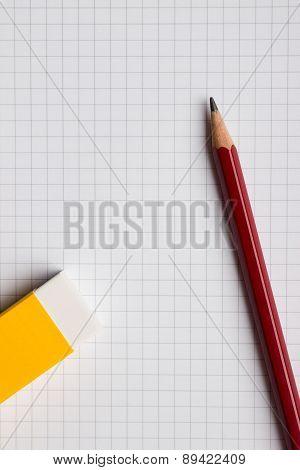 Paper, Pencil and Eraser