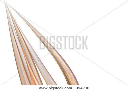 Golden Abstract Spines