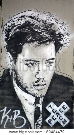 Robert Downey Jr. mural