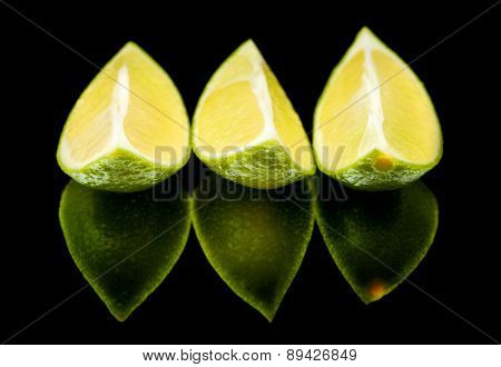 Limes On Black Mirror