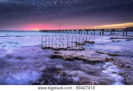 Jetty in Robe, South Australia