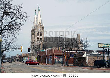 Corner Jackson & Chicago Streets, Joliet, Illinois