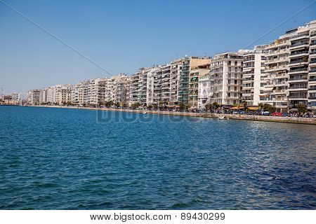Thessaloniki City In Greece