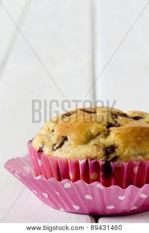Single Banana Chocolate Chip Muffin