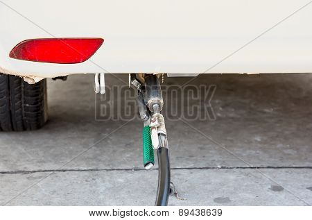 Lpg At Gas Station