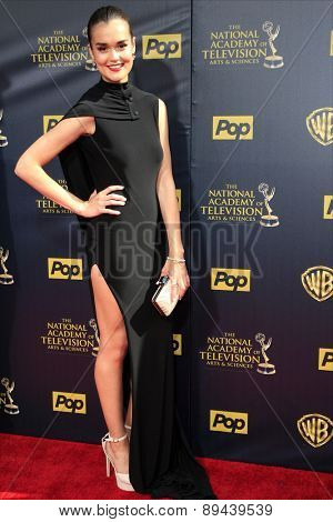 BURBANK - APR 26: True O'Brien at the 42nd Daytime Emmy Awards Gala at Warner Bros. Studio on April 26, 2015 in Burbank, California