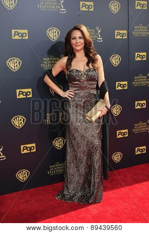 BURBANK - APR 26: Jade Harlow at the 42nd Daytime Emmy Awards Gala at Warner Bros. Studio on April 26, 2015 in Burbank, California