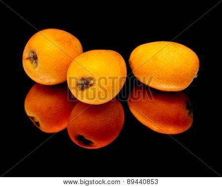 Nispero, Japanese Medlar Fruit
