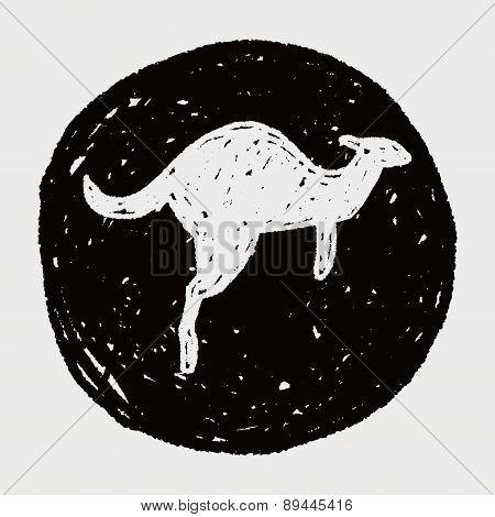 Kangaroo Doodle