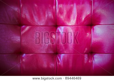 Upholstery Leather Pattern Background.