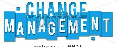 Change Management Blue Stripes