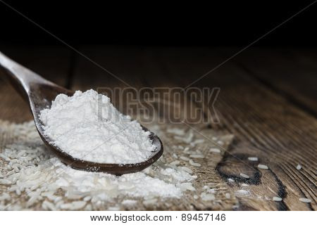 Heap Of Rice Flour